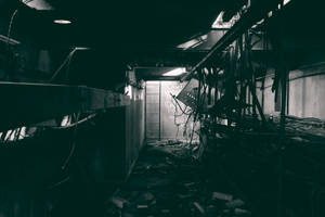 1017, old AMCOR papermill. by thespook