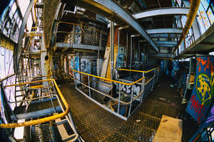 6069, old AMCOR papermill. by thespook