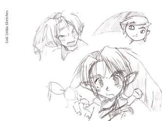 The Legend of Zelda - Sketches by BallTongueKoRN