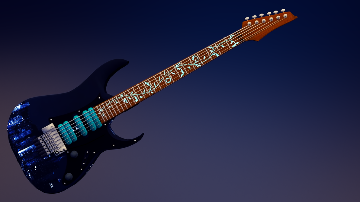 Electric Guitar by TakeshiTenma