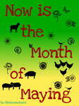 Now Is the Month of Maying Cover