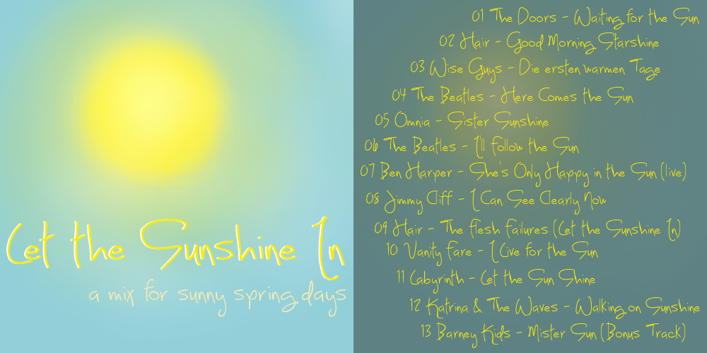 Let the Sunshine In Cover by thriceandonce
