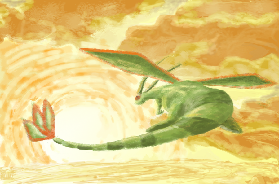Flygon Wallpaper by Shadowstar2292 on DeviantArt