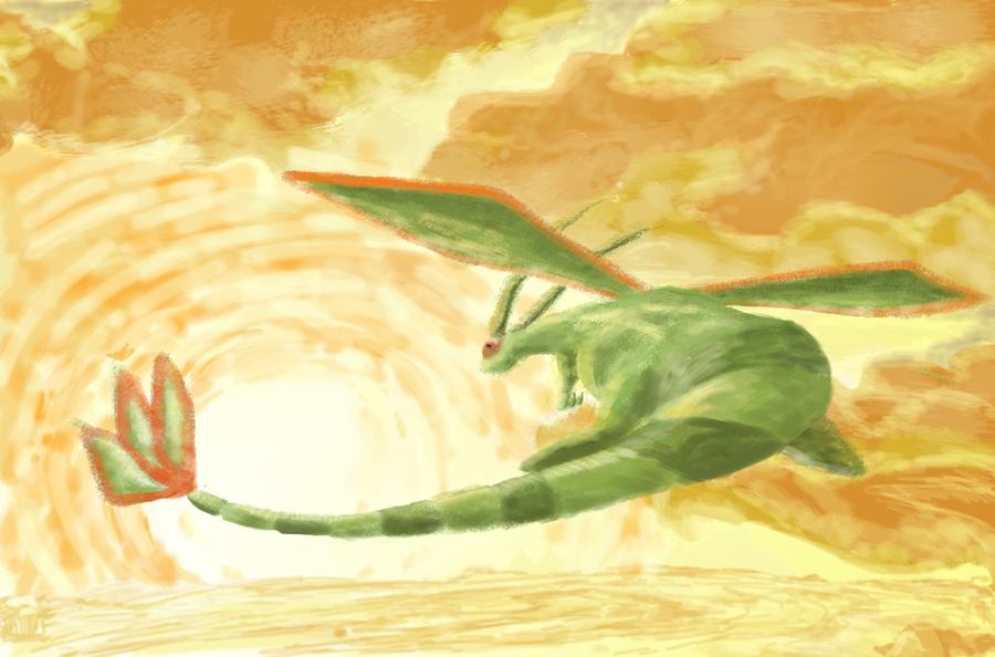 Flygon Wallpaper by Shadowstar2292 on DeviantArt