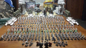 My Imperial Guard Army for Warhammer 40,000