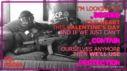 SCP Valentines Day 2016 by FoggyGolem