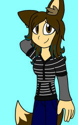 Me in My Own Art Style by ScarletBloomLove