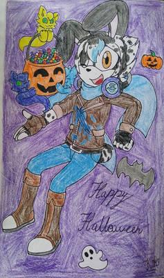 Halloween Ghost Rabbit