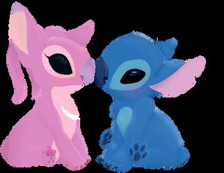 Stitch X Angel Favourites By Chidori1334 On Deviantart