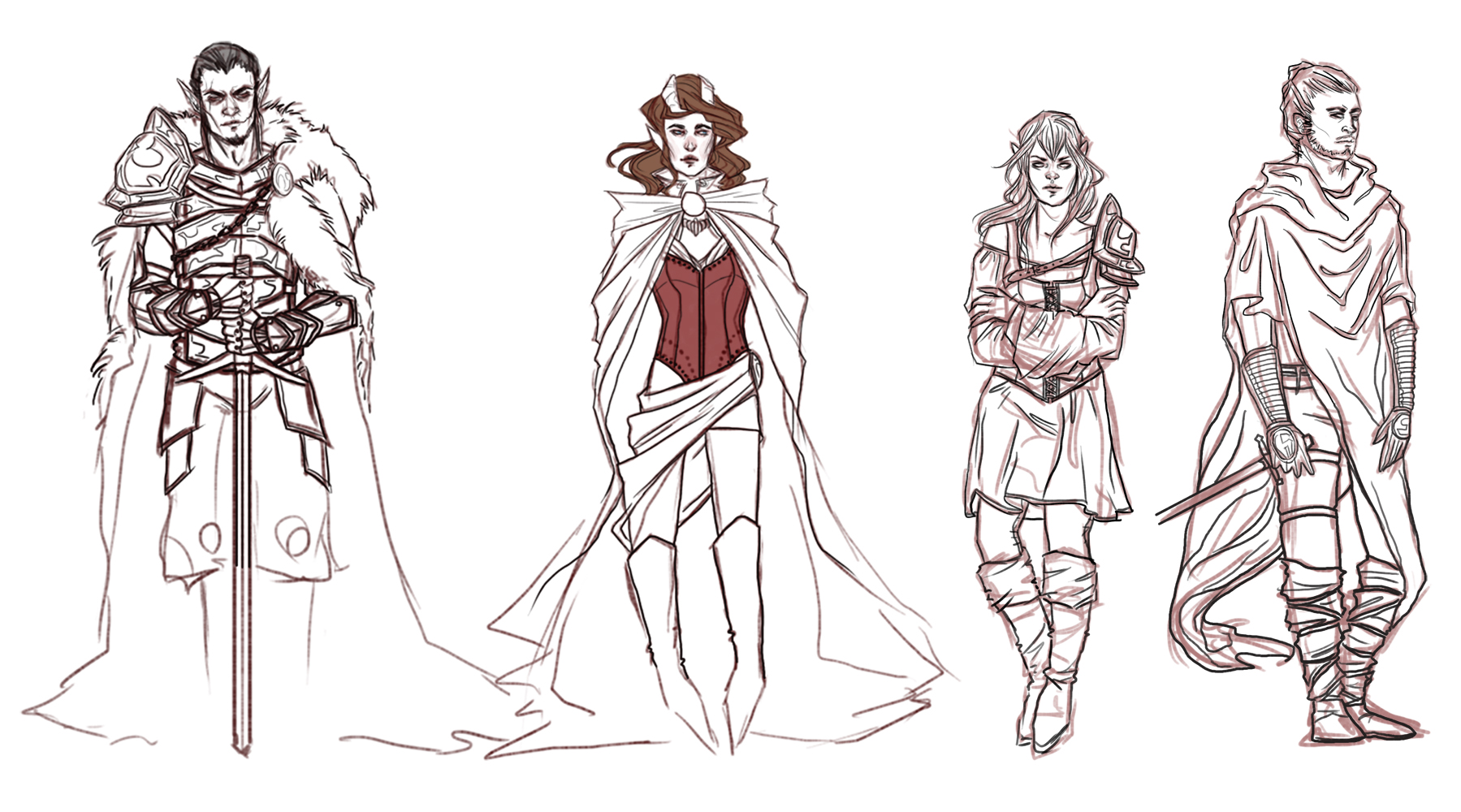 To Ashes Sketch Dump by jaelmoray