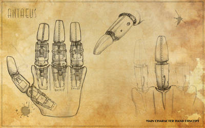 Project Antaeus - Hand Concept