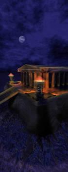 3D Gold Temple