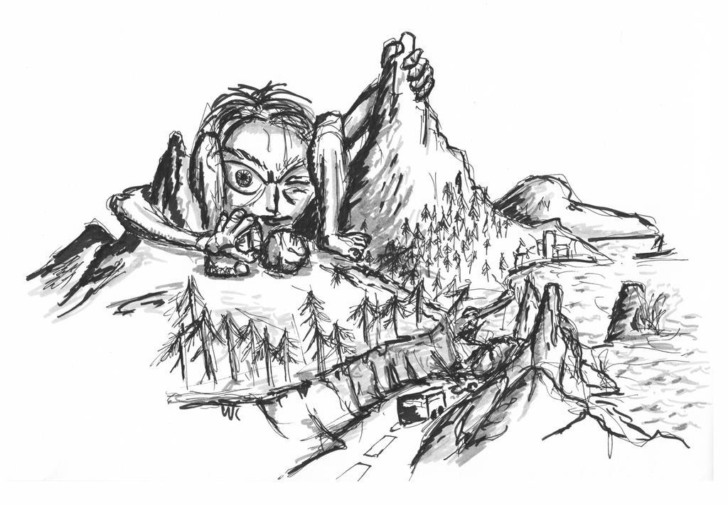 02 - Rockslide creature by KingOfRocket