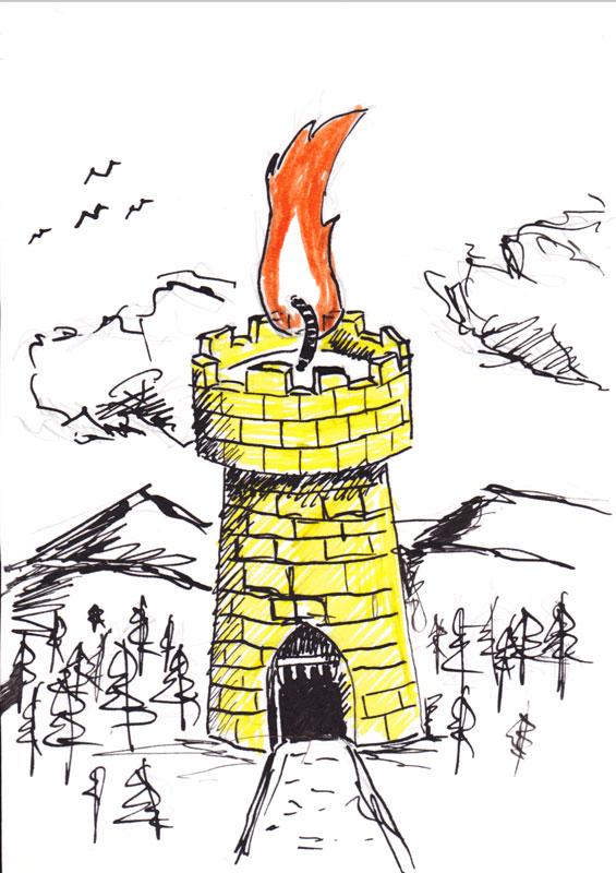 41 - Wax castle by KingOfRocket