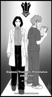 Diagnose, Treatment, Preventation and Murder Cover