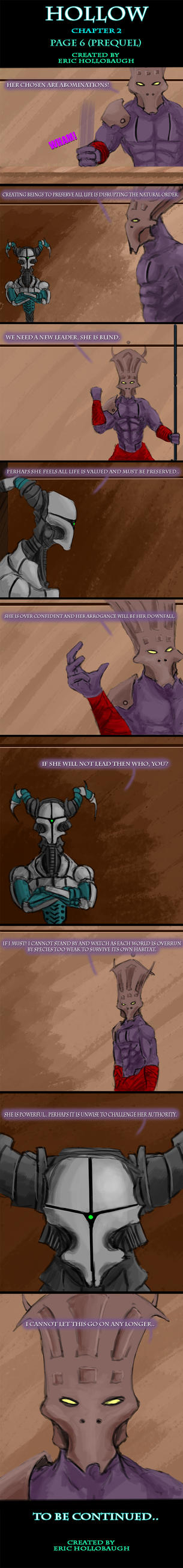 Hollow Chapter 2 -Page 6- Betrayer by EricHollobaughArt