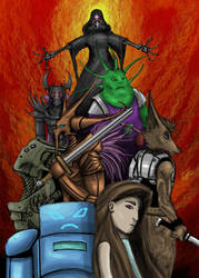 Hollow Chapter III by EricHollobaughArt