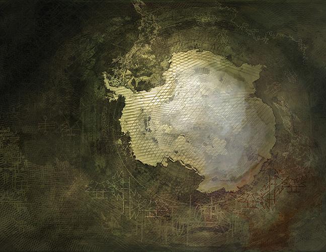Antarctica Map by Senecal
