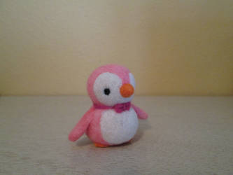 Needle felted Percy the Penguin Soft Sculpture by imaginaryfriends2012