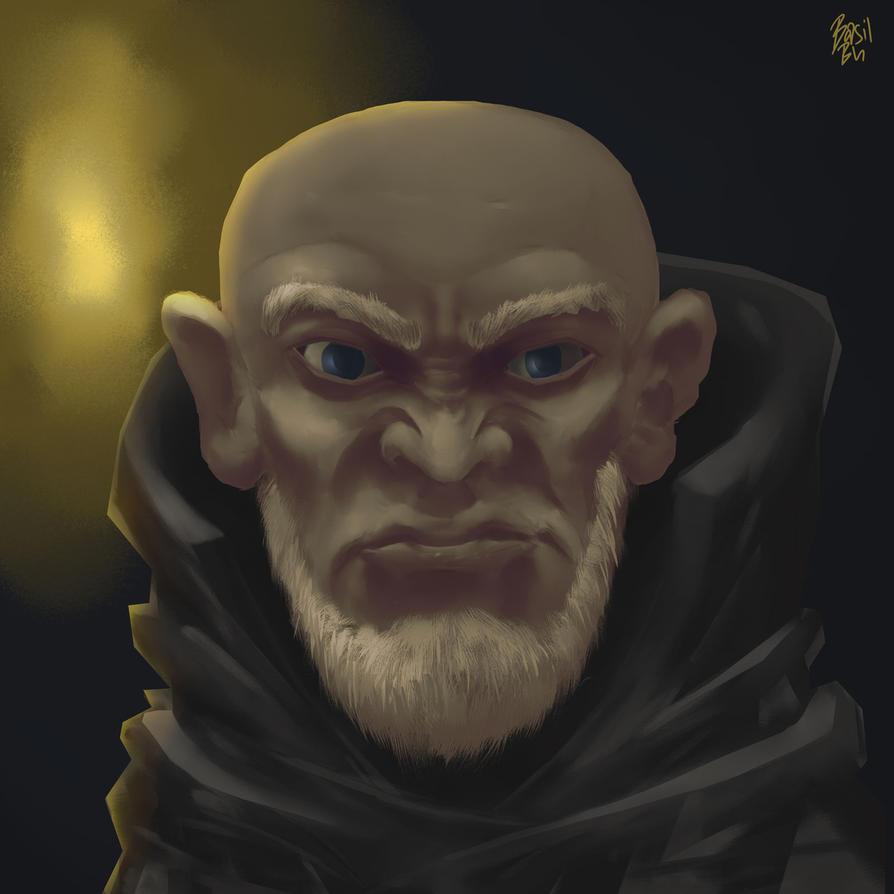 Mad Monk by Basilbu
