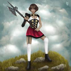 Mad Heidi Fanart by Basilbu