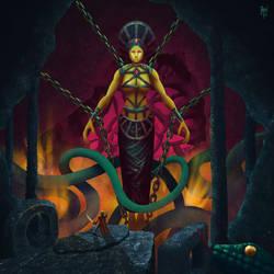 Snake Queen by Basilbu
