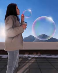 Bubbles by Basilbu