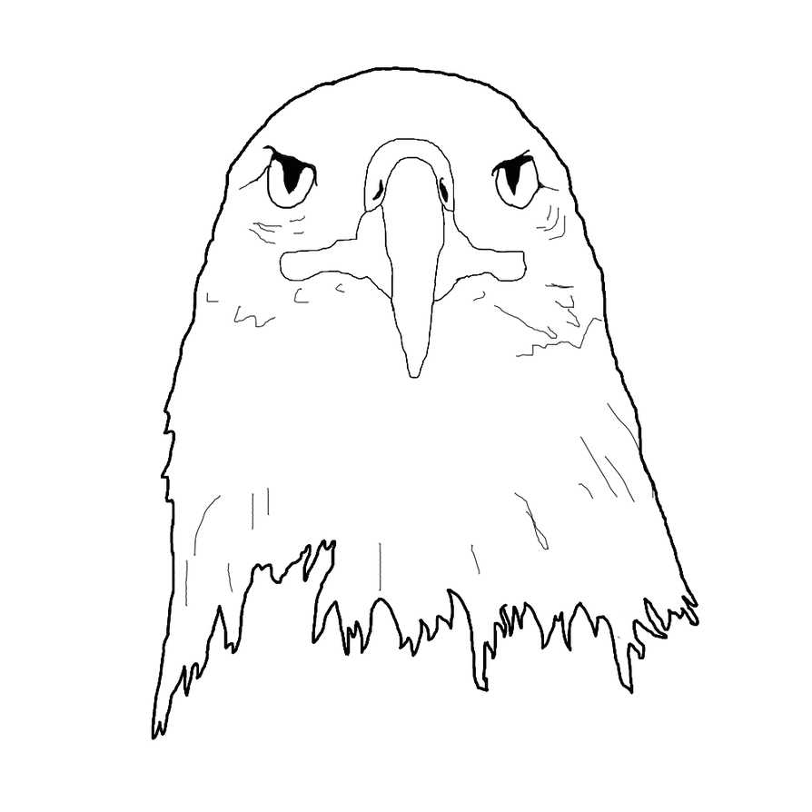 Line Art Eagle : Eagle lineart points by lavibookman on deviantart