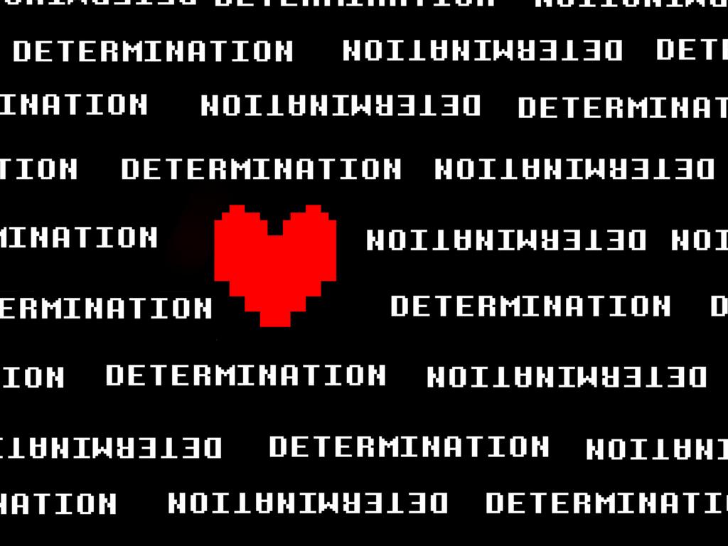 Determination Undertale Wallpaper by Squirrelgirlv2 on ...