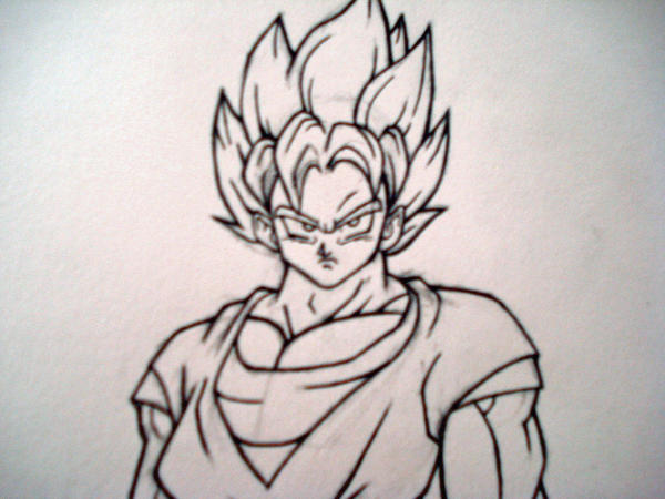 goku full body close up by rondostal91 on DeviantArt