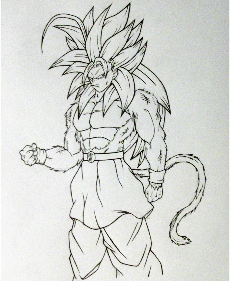 Ssj5 Goku By Rondostal91 On DeviantArt