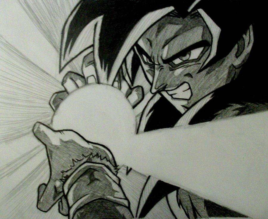 goku ssj4 by rondostal91 on deviantart