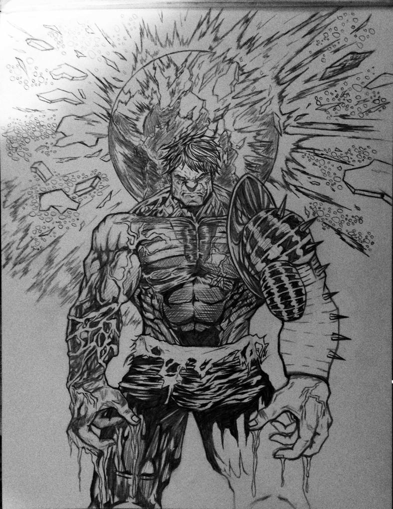 Planet Hulk with armor: Part 1 by rondostal91