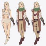 Concept of my Courier Six Nicki by heyethereal