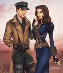 [COMMISSION] MacCready and Tyrrlin by heyethereal
