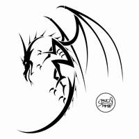 Dragon Tattoo by ad1066