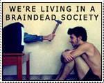 braindead society stamp by Infernal-Feline