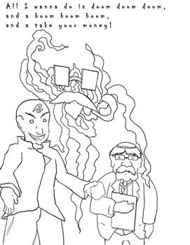 Vilgax, Yogsoth, and Feinstine