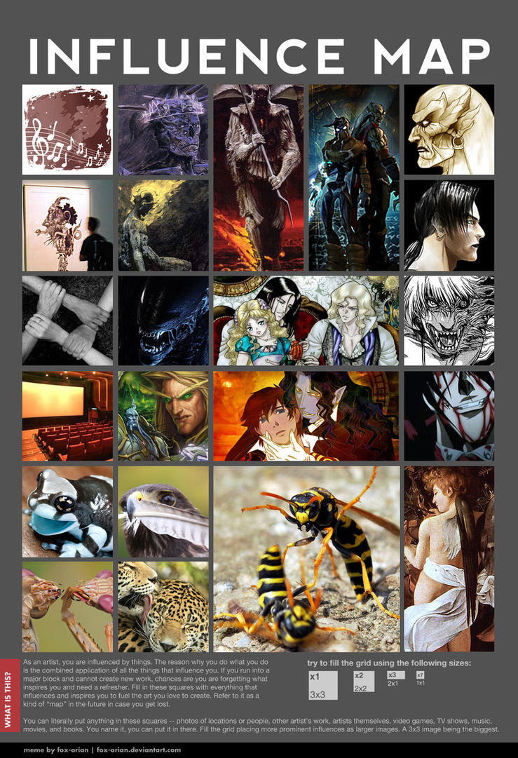 Influence Map by MonsterWithNoName