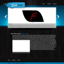 Zeal Design Website by ShanesDesigns