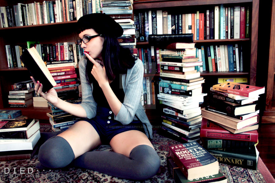 book nerd by diedphotography -#main