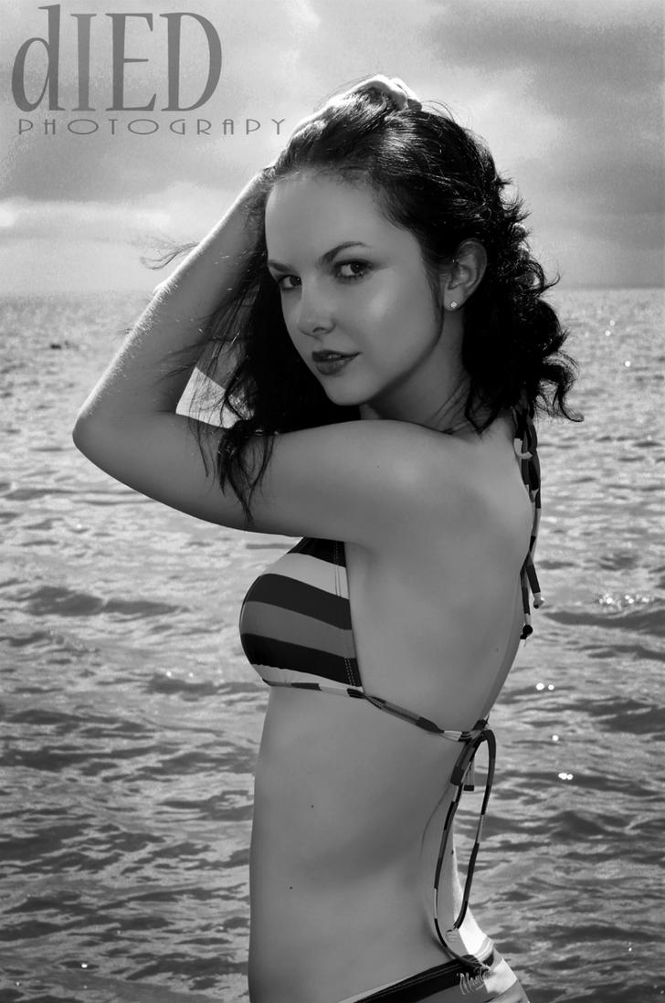 At the beach by DiedPhotography