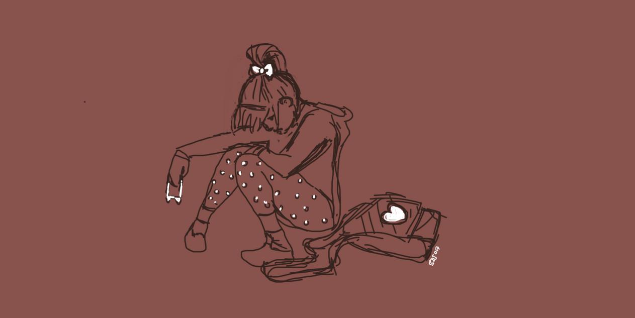 Digital sketch- in progress: Raped by Sarsur20