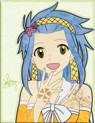 Fairy Tail: LEVY by theBlacFlower