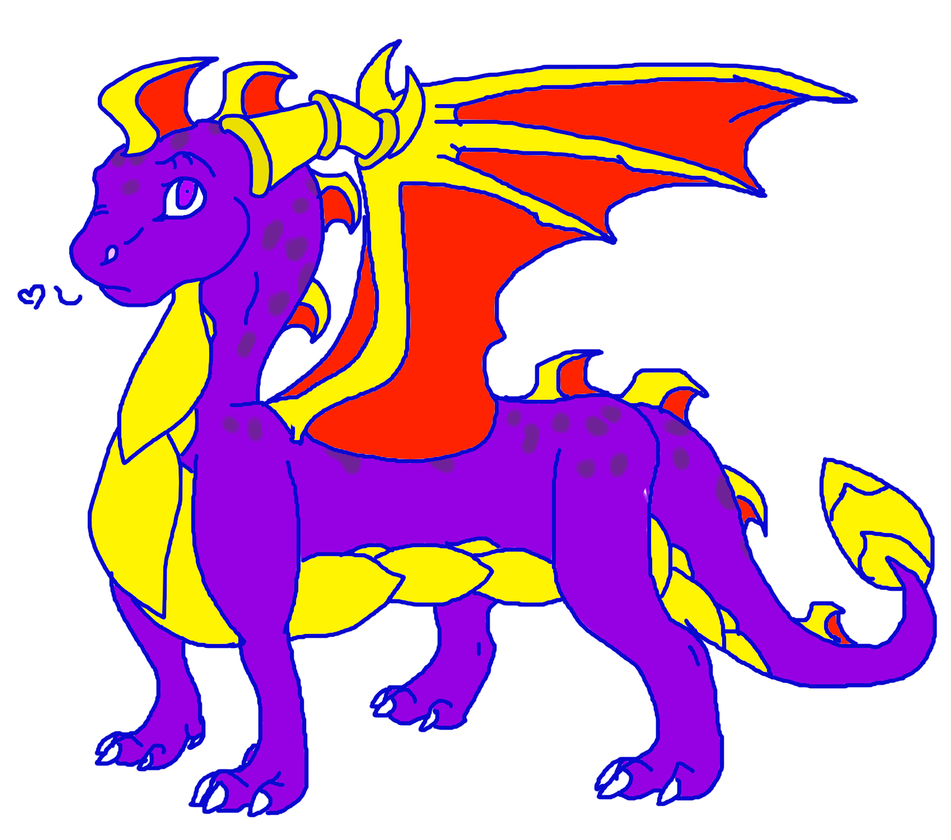 Spyro yo by BT-fabulouscatlord