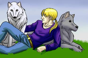 Dog-Gone Good Time by katwarrior