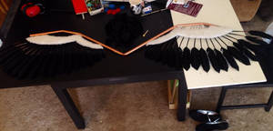 Akuma Homura wings WIP 1