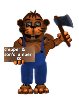 Chipper The Beaver by mnxz