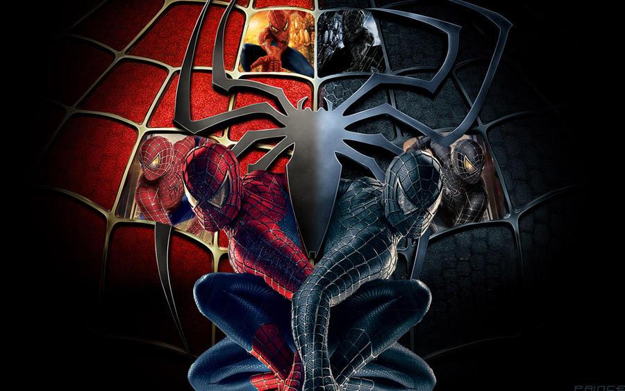 spider man two sides by winch3s7er on deviantart