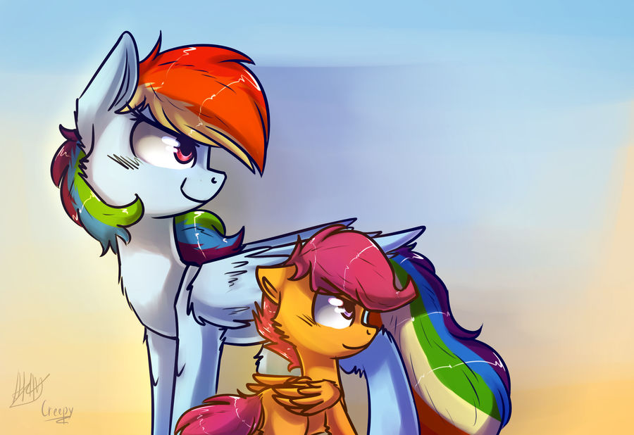 Rainbow Dash And Scootaloo 1 By Suplolnope On Deviantart Mother's day, it was tomorrow! deviantart
